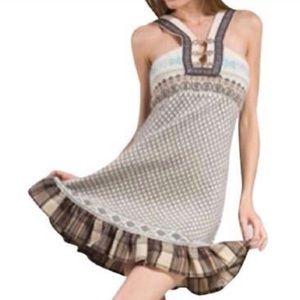 FREE PEOPLE Lambswool Fair Isle Sweater Dress